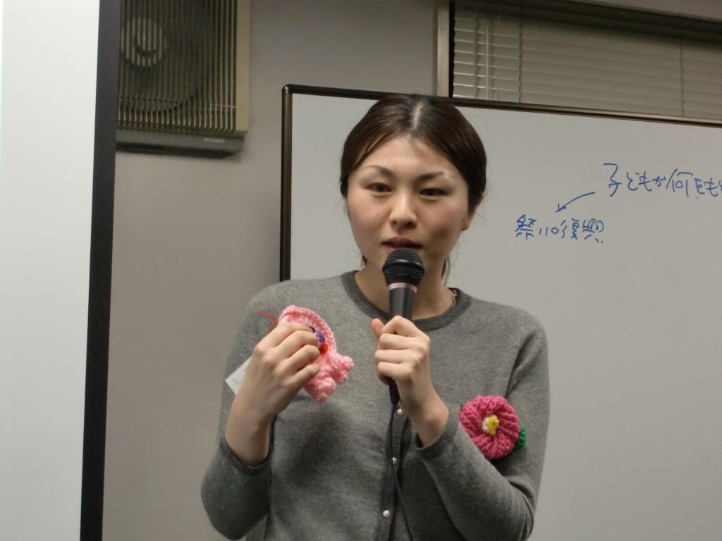 RQの3.11 一周年シンポジウム RQW 栗林美知子さん