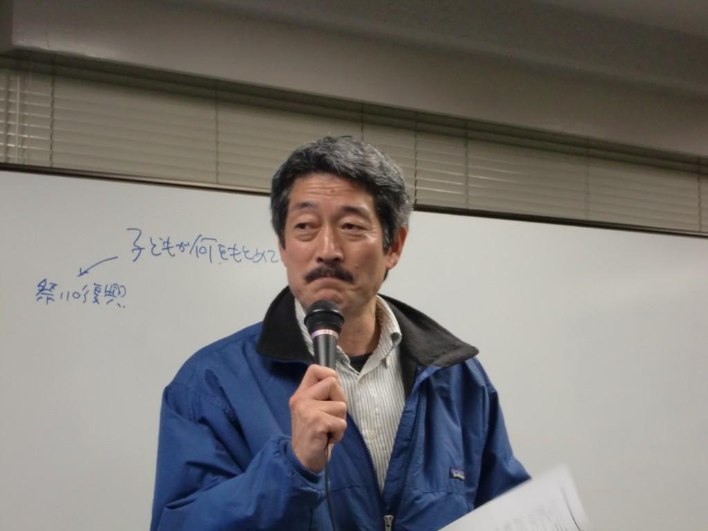 RQの3.11 一周年シンポジウム 広瀬さん