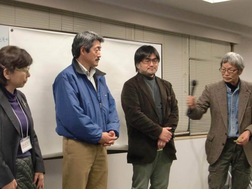 RQの3.11 一周年シンポジウム RQ災害教育センター 理事メンバー