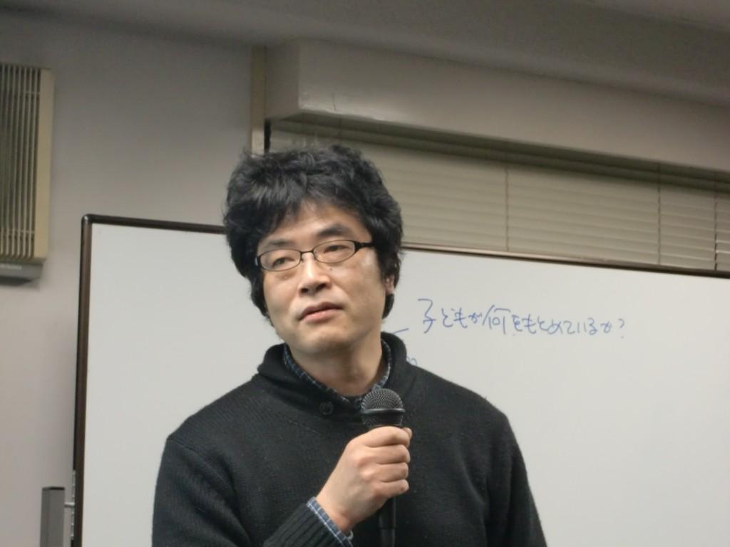 RQの3.11 一周年シンポジウム 聞き書きチーム 山中俊幸さん