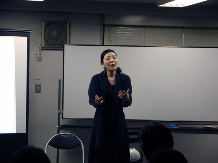 RQの3.11 一周年シンポジウム ソプラノ歌手の竹林加寿子さん