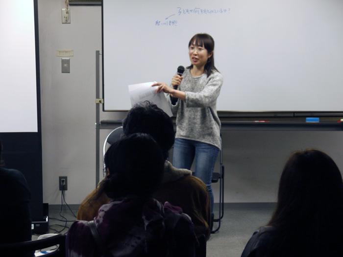 RQの3.11 一周年シンポジウム くりの木ひろば 大和夕子さん